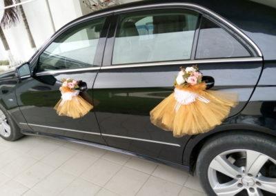 Déco véhicule mariage